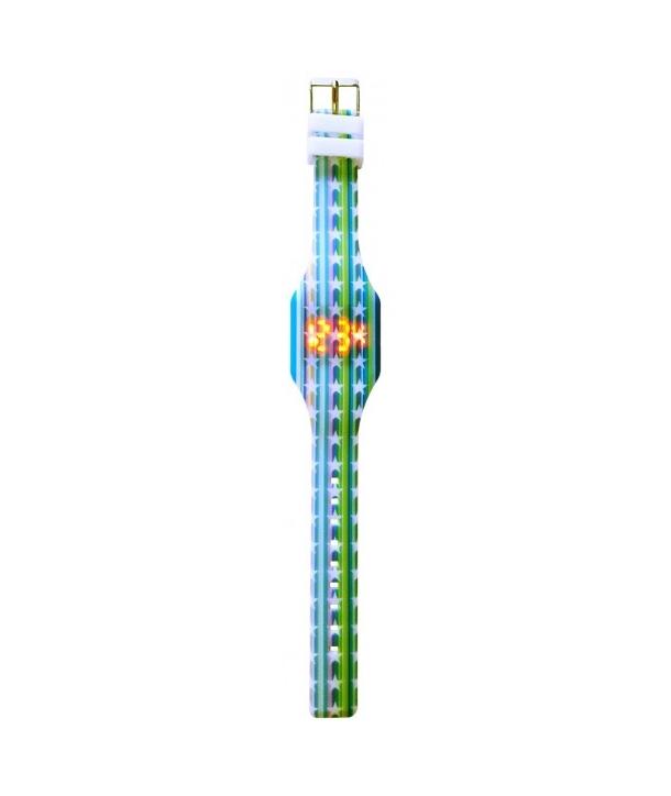 Reloj Led Silicona (Niña)