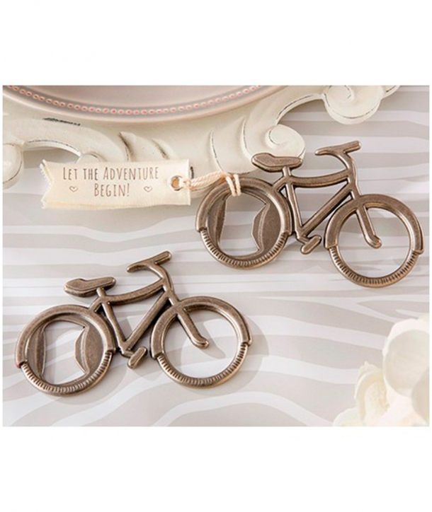 """Abrebotellas """"Bicicleta"""" en caja de regalo"""