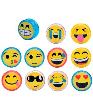 Lote de 24 YoYo Emoticonos - Regalos Detalles Bodas Infantiles