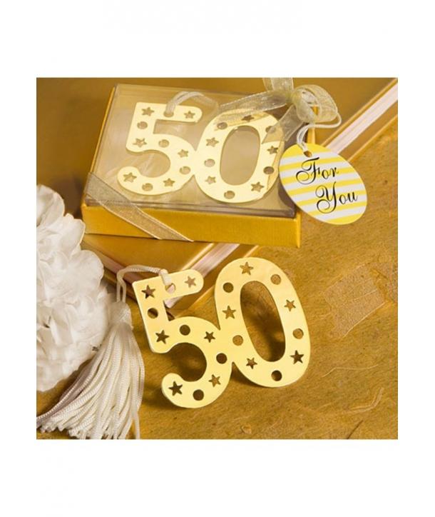 Elegante Punto de Libro 50º Aniversario