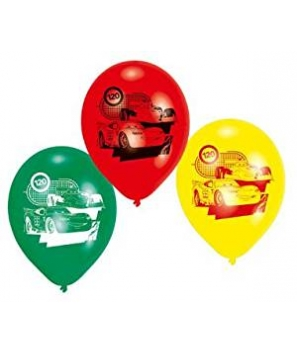 Globos de Látex DISNEY CARS (6 Pcs)