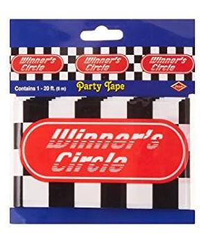 Cinta banderola fiesta de carreras