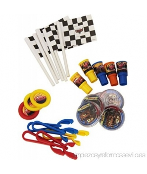 Set de regalos para fiesta Disney Cars ( 24 pcs)