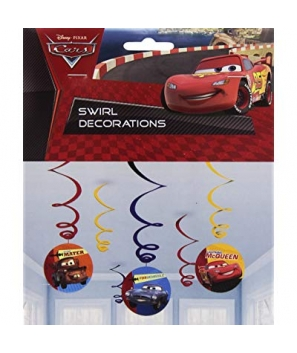 Guirnalda de Disney Cars ( 3 pacs)