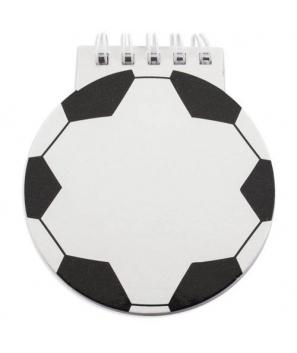 Libreta anillas notas Fútbol