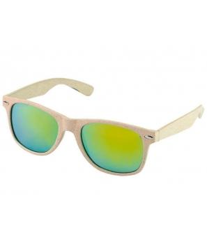 Gafas de sol Eco Fibra de trigo y PP color natural regalos ecológicos