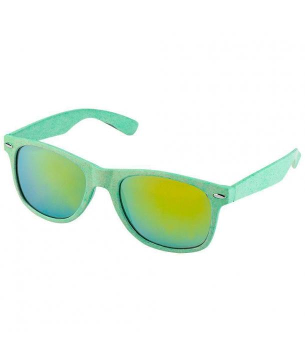 Gafas de sol Eco Fibra de trigo y PP color Verde