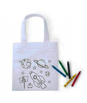 Bolsa para colorear Space ( 5 ceras incl.)