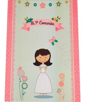 Libro Álbum de Comunión En Caja de Regalo Niña