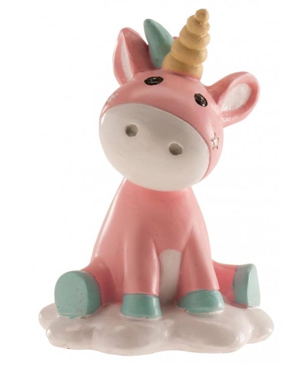 Figura Unicornio Bebé para Tarta