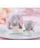 Vela Bautizo Elefante Rosa en caja
