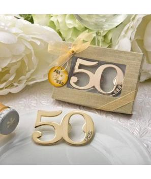 Abrebotellas 50º Aniversario en caja de Regalo.