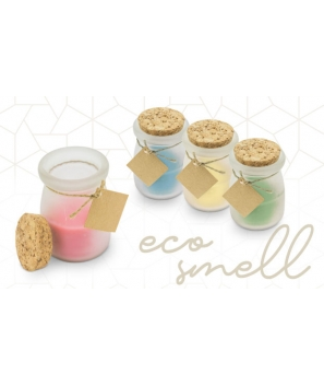 Vela Aromática Con Tapón Corcho Eco 100%