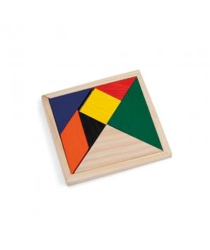 Puzzle Madera Rompecabezas Tangram