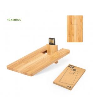 Memoria USB 16GB Fibra Trigo ECO en Caja Regalo