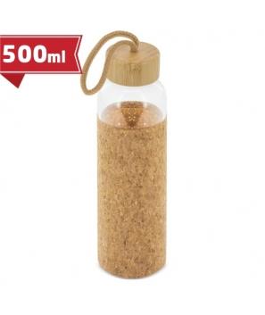Botellas de Cristal Termos Tapón Bambú-Corcho