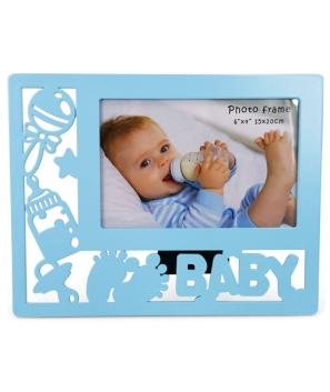 Portafotos Calado Baby ROSA