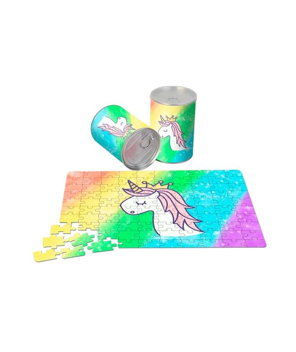 Puzzle en Lata Metálica de Regalo Unicornio