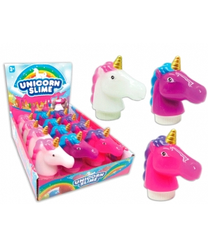 Lote 10 Slime Unicornio - Regalos niños Comunión Bodas Cumples