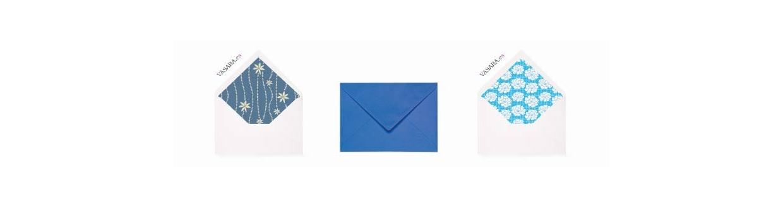 Sobres azules