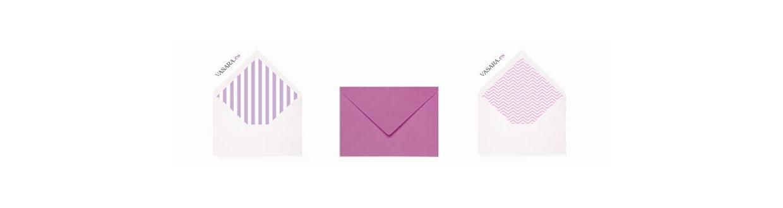 Sobres Lila y violeta