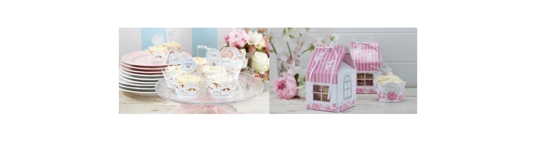 Mesas de dulces de comuniones y bodas