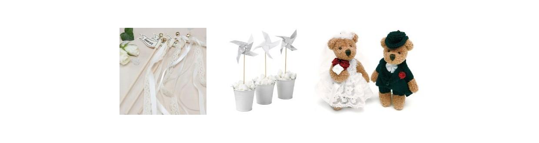 Detalles de boda para niños