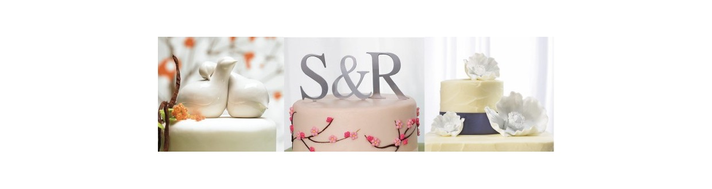 Decoración tartas de boda