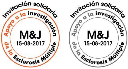 Invitacion detalles regalos solidarios Esclerosis Múltiple